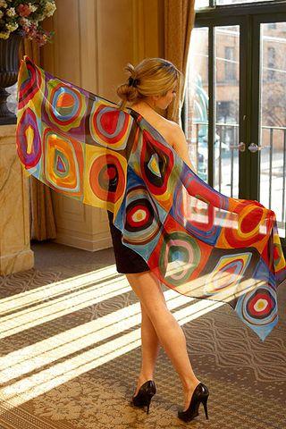 Kandinsky scarf
