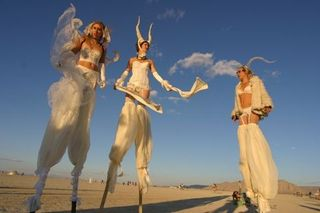 Burning-Man-White-ladies