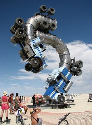 Burning-man-trucks