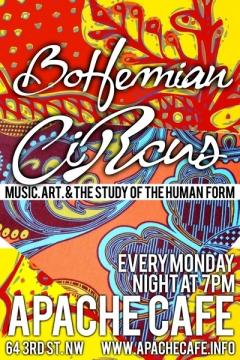 Bohemian-circus-poster@apachecafe