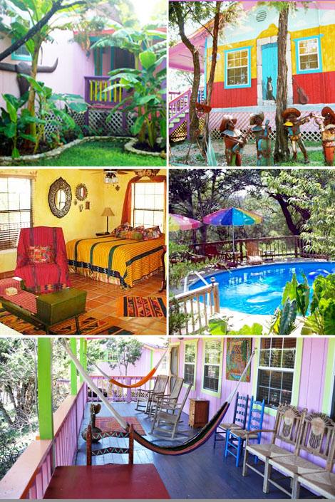 Beautiful Getaway   Lost Parrot Cabins   Austin, Texas