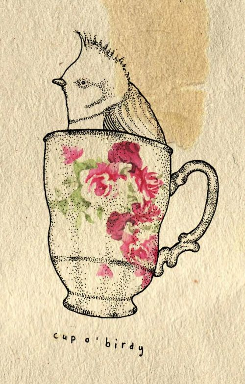 Kate-wilson-bird-teacup
