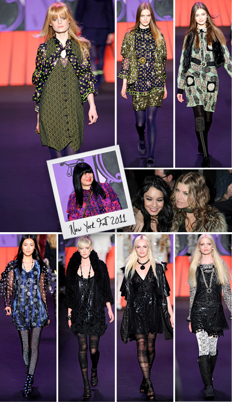Fashion-week-anna-sui-fall-2011-nyc-bohocircus