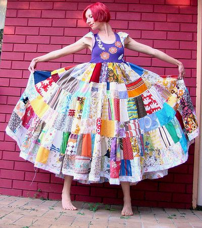 Patchwork-dress-bohocircus