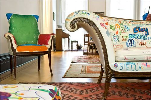 Graffiti-furniture-bohocircus