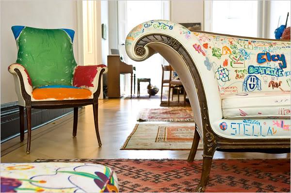 Genial Graffiti Furniture Bohocircus