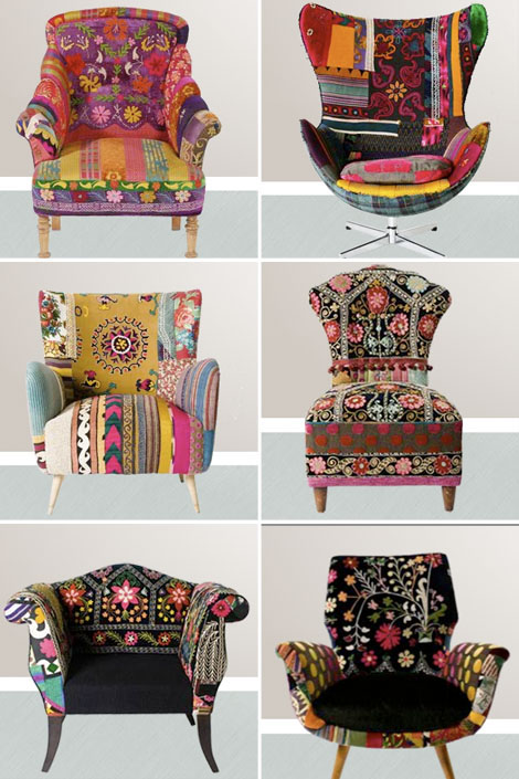 Bojka Bokja Designs Furniture Bohemian Boho Bohocircus