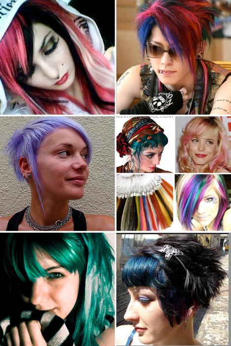 Boho Hair - Unique Colored Hair - Bohemian - Boho Circus
