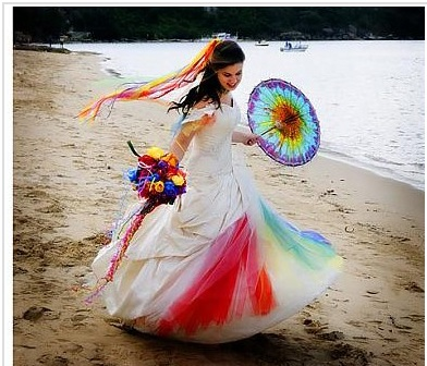 Wedding-bride-rainbow-bohocircus