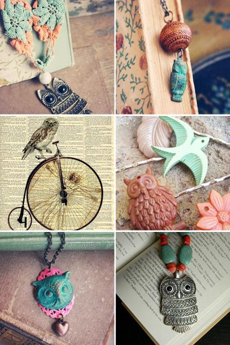 Owls-etsy-jewelry-boho-bohocircus