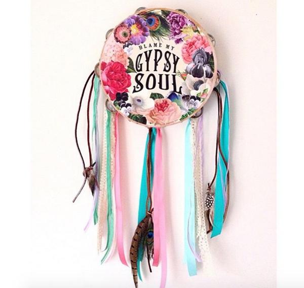 Gypsy soul tambourine | BohoCircus