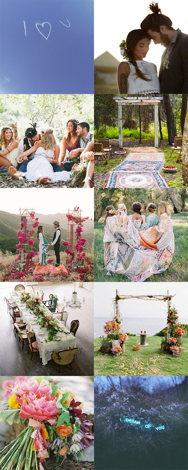 Bohemian Weddings | Boho Circus blog