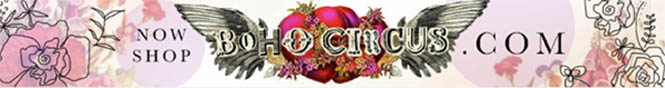 Bohocircus shop banner