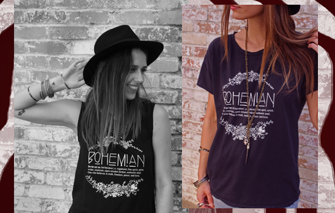 Boho Circus Lookbook | Bohemian Tee
